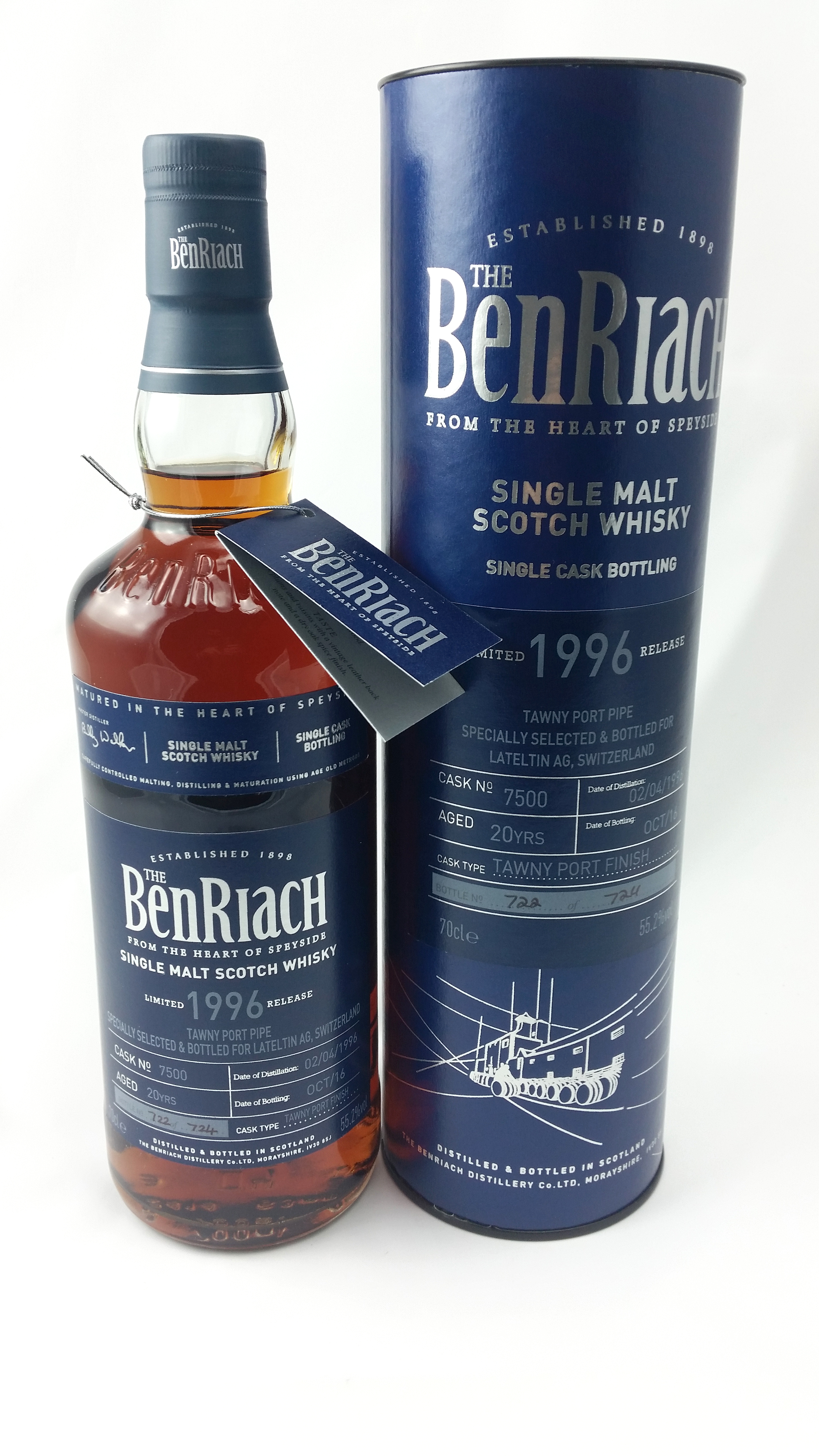 Bernriach 1996, Special Cask 7500